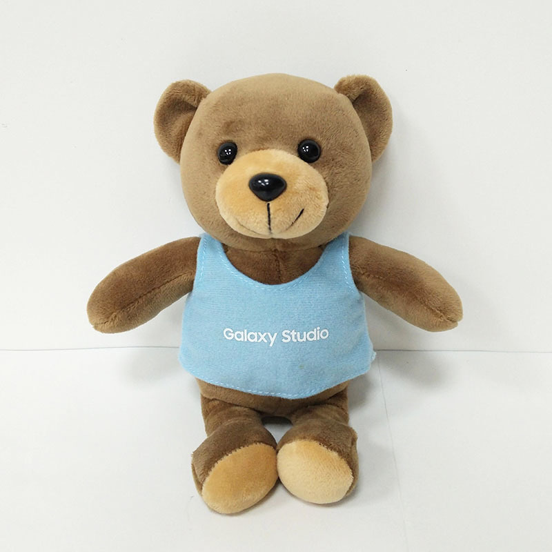 Teddy Bear Soft Toy Wearing A T-shirt