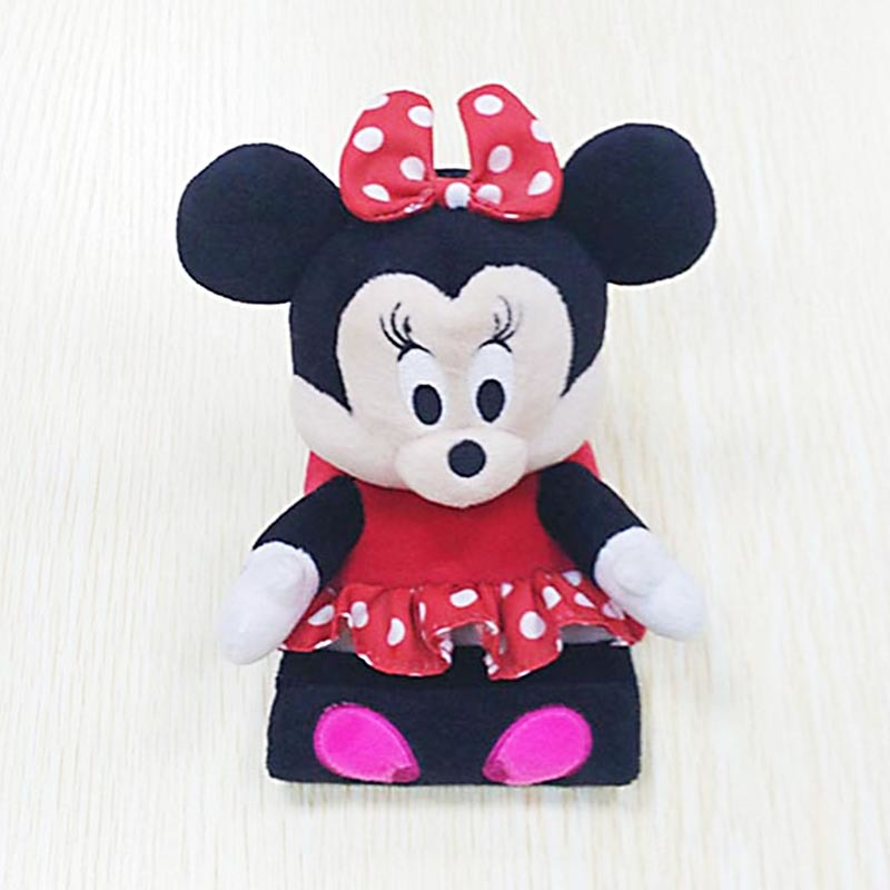 Sitting Minnie Plush Toys Mobile Phone Bracket