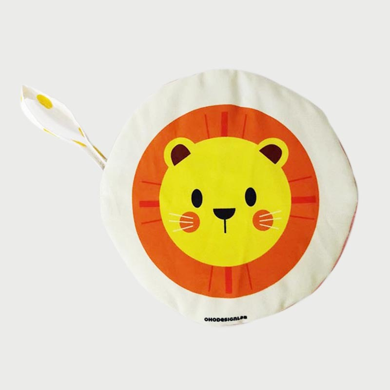 Round Face Cloth Book For Babies