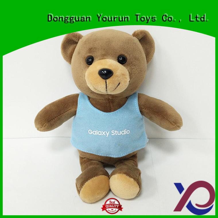 YouRun teddy bear soft toy supply for classroom