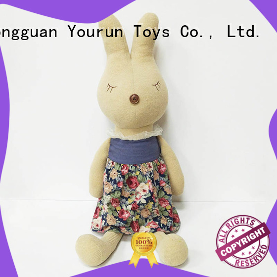 YouRun hand make newborn baby soft toys online shopping for girl