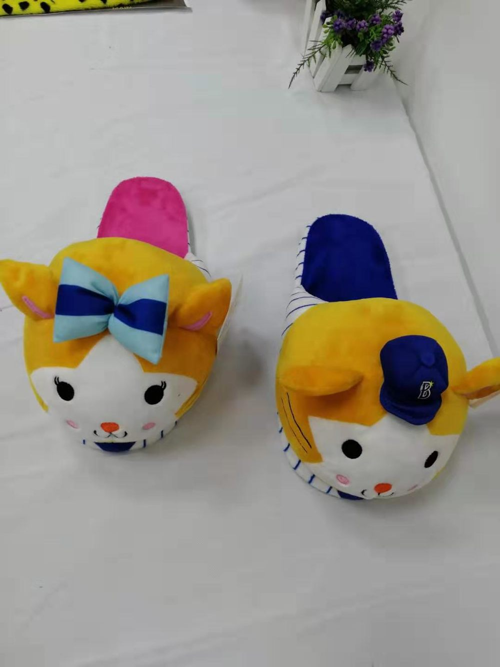 Cute Plush Slippers For Adults