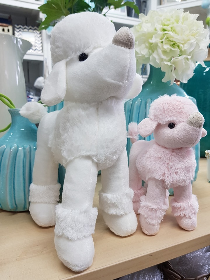 Custom Cuddly Plush Animal Toys Poodle Stuffed Animals