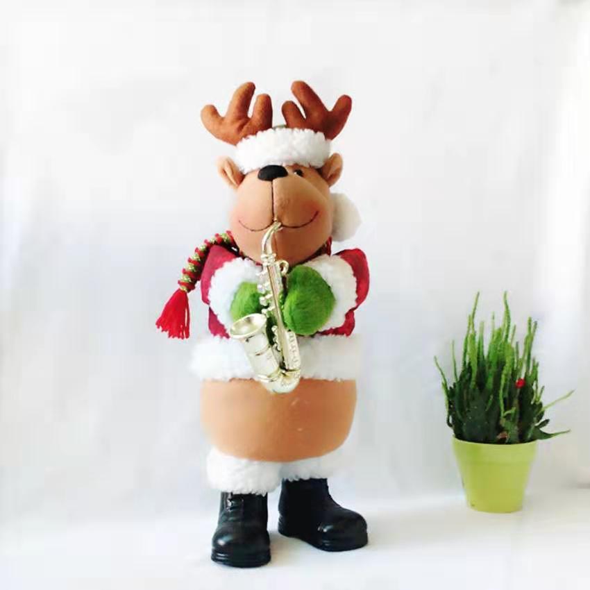 Plush Dolls Christmas Decorative Gifts Toys Reindeer