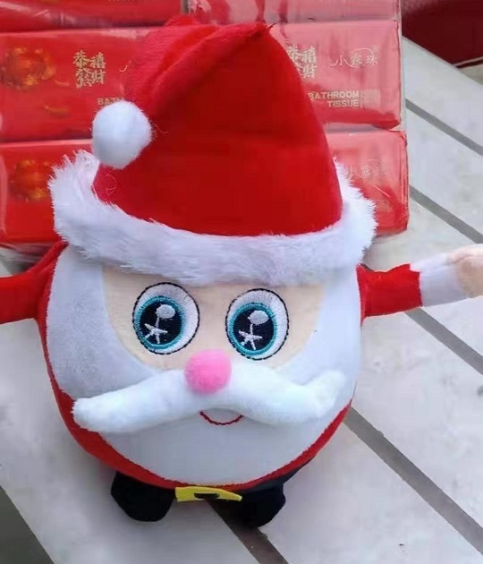 Cute Plush Toys Design Mini Santa Claus Christmas Gift Dolls