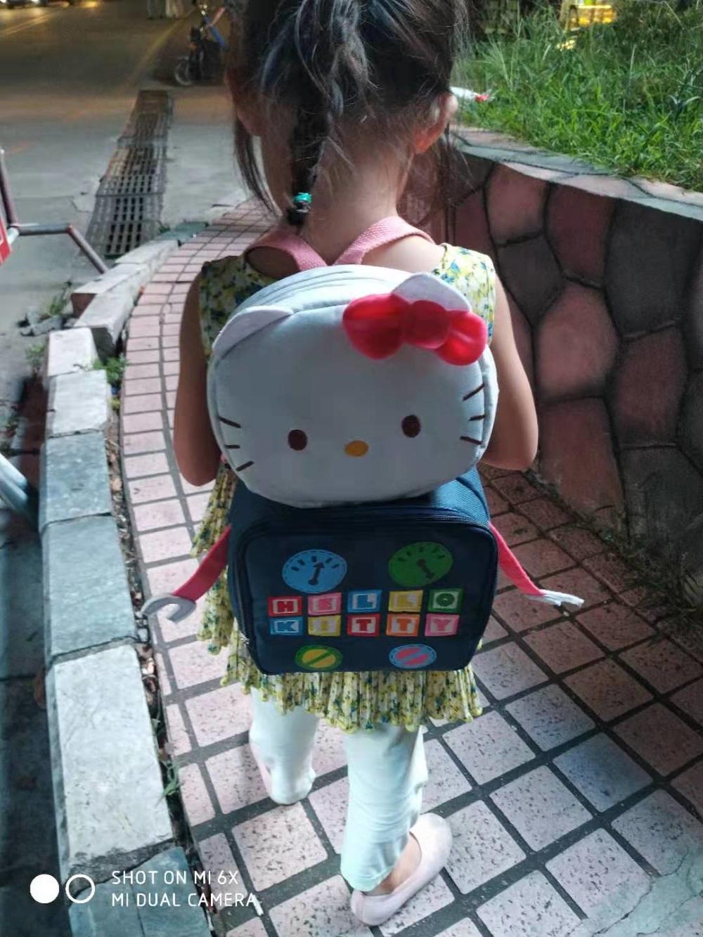 Hello Kitty 3D Cartoon Backpack