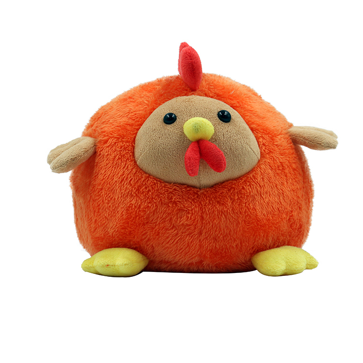 Custom Animal Plush Toys Fur Chicken Doll