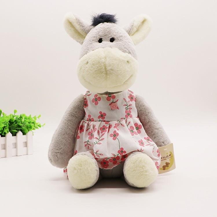 Little Kids Plush Toys Dress Strap Lover