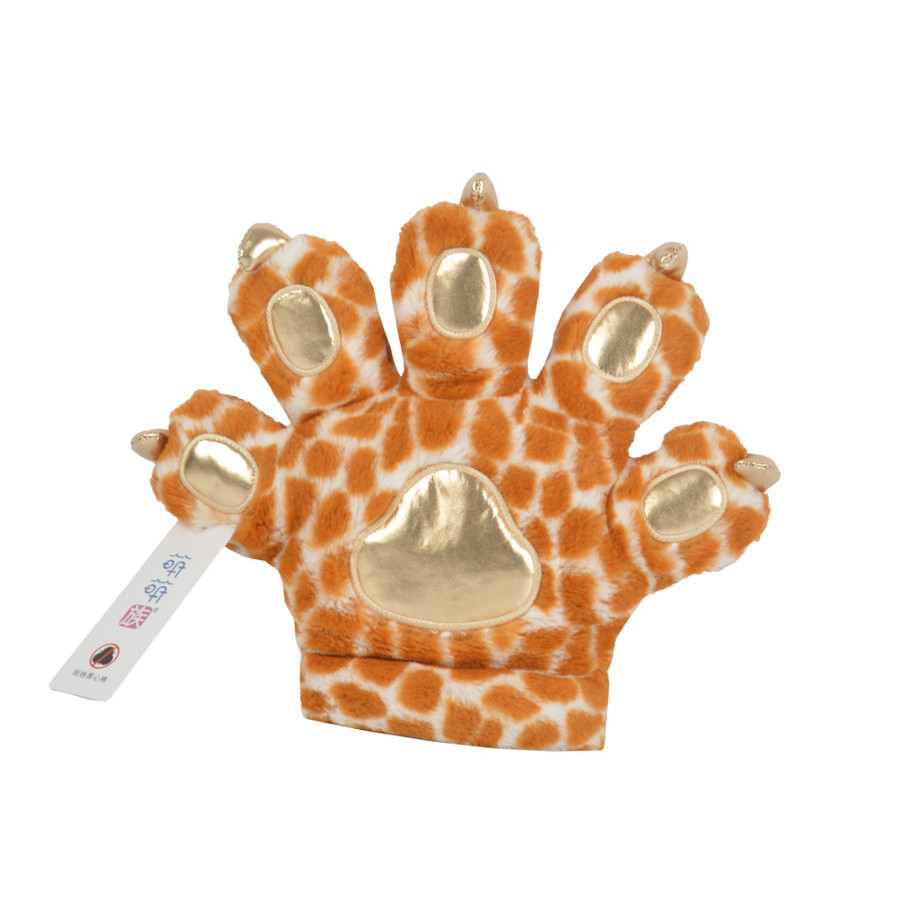 Colorful Soft Unique Stuffed Animals Toys Paws Funny Plushies