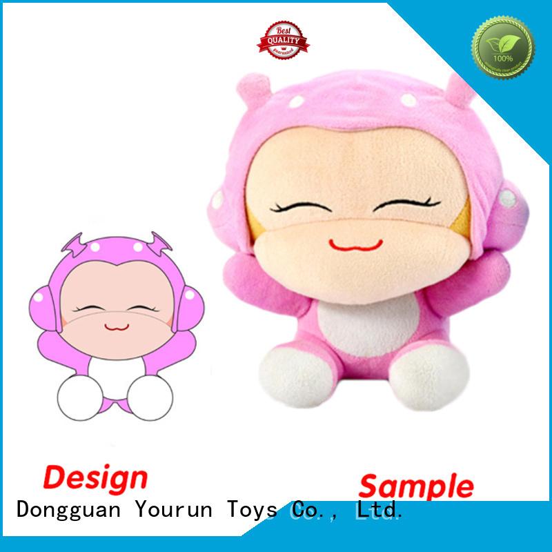 YouRun custom plush dolls low price for women