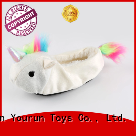 YouRun soft fuzzy house slippers factory for bedroom