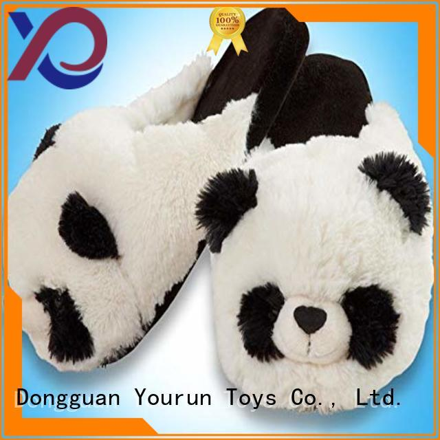 YouRun high top furry slippers manufacturer for adult
