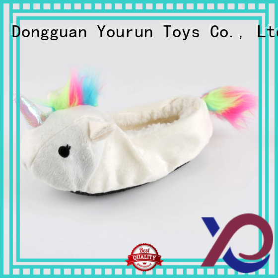 YouRun popular plush slippers womens manufacturer for bedroom