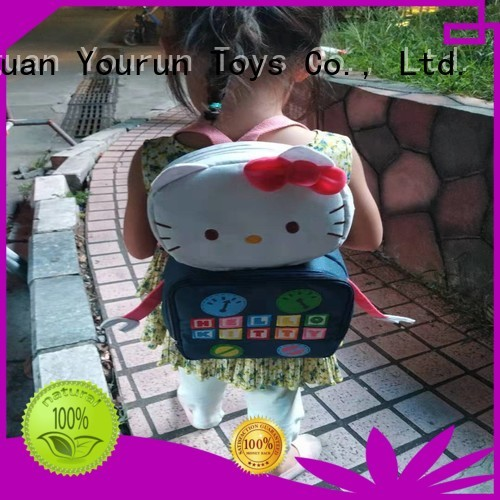custom hello kitty doll backpack manufacturers for baby girl
